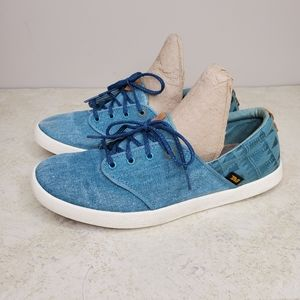 Teva Willow Lace Canvas Shoes Southwest 8.5